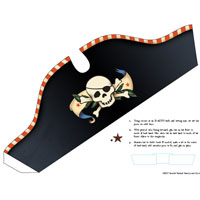 Pirate Hat Printables