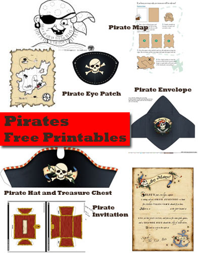 pirate free printables