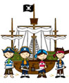 pirates activities and crafts