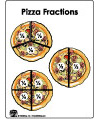 pizza fractions folder Game