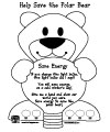 polar bear rhyme printables