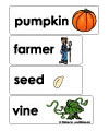 pumpkin word wall