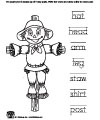Scarecrow printables and worksheets