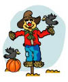 scarecrow and harvest preschool activities