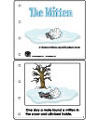 The mitten emergent reader booklet