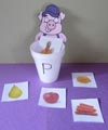 the picky pig beginning sound folder game