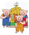 The three little pigs activities and games