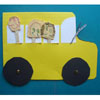 bus, car crafts, activities