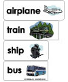 transportation word wall
