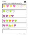 hearts worksheet
