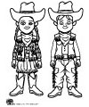 wild west and cowboy coloring pages and printables