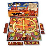 Cowboy and Cowgirl board game