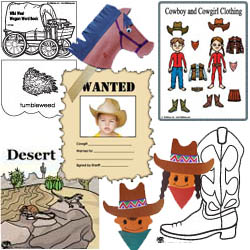 Wild west activities and crafts