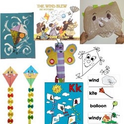 wind and air theme on KidsSoup.com