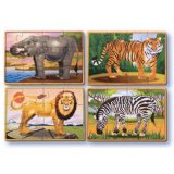 Zoo animals puzzle