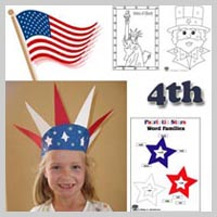 preschool and kindergarten 4th of July activities and crafts