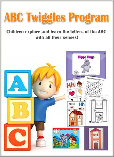 Preschool Letters of the Alphabet ABC Twiggles membership