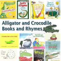 Preschool Kindergarten Crocodile and Alligators Books and Rhymes