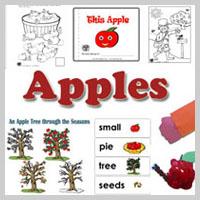 Preschool Kindergarten Apples Activities and Crafts
