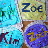 Preschool and Kindergarten Birthday Cake Craft