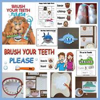 Preschool Kindergarten Animal Teeth Activities and Crafts