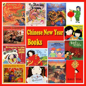 Preschool Kindergarten Chinese New Year Books