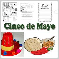 Preschool Kindergarten Cinco de Mayo Activities and Crafts