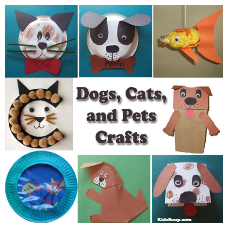 Cat Dog Whiskers Craft