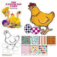 The Easter Egg Farm Story Time Activities and Crafts