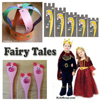 Fairy Tales weekly lesson plans and activities for preschool and kindergarten