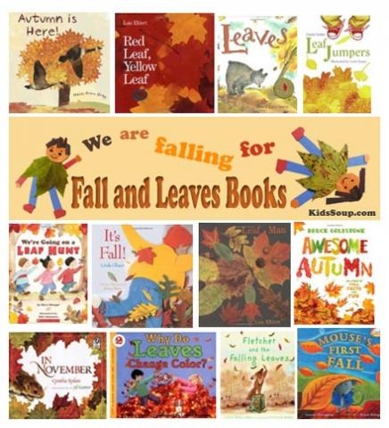 Fall and Leaves books, rhymes, and songs for kids