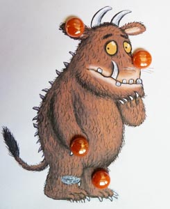 The Gruffalo body parts preschool activity and lesson
