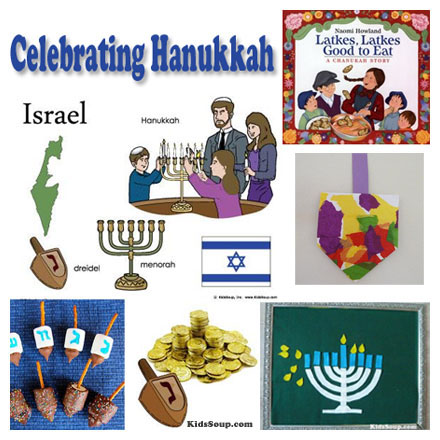 Hanukkah Celebration lesson, activities, and crafts
