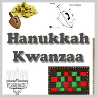 Preschool Kindergarten Hanukkah and Kwanzaa Activities