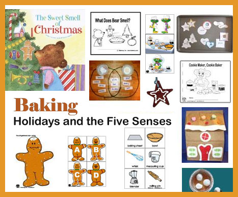 preschool and kindergarten Christmas and baking activities and crafts