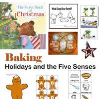 Preschool, Kindergarten Christmas Holiday Baking Activities