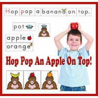 Ten Apples on Top rhyming activities for preschool and kindergarten