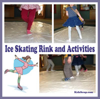 Olympic Competition: Ice Skating Movement Activity