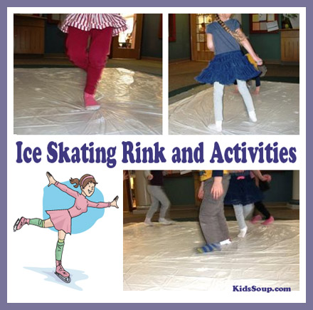 Ice Skating Rink And Activities Kidssoup