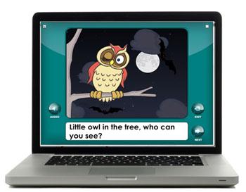 Twiggle Book interactive emergent reader book for preschool and kindergarten