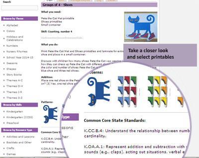 preschool lesson plan and activity