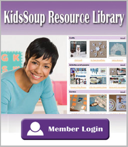 KidsSoup Resource Library member login