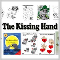 Preschool Kindergarten The Kissing Hand Activities and Crafts