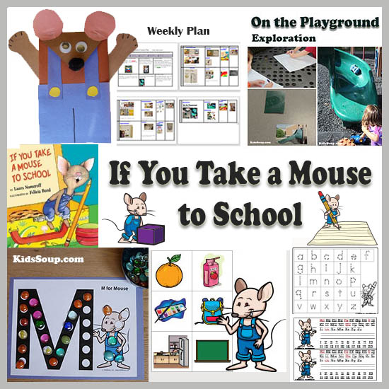 If you take a mouse to school preschool activities and games