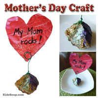 Preschool Kindergarten Mother's Day Craft