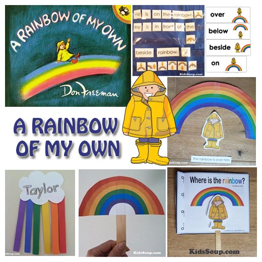 A Rainbow of My Own Activities and Folder Games available inside our KidsSoup Resource Library