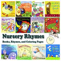 Preschool and Kindergarten Nursery Rhymes and Books