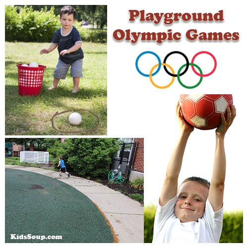 Playground olympics gross motor skills activities for preschool