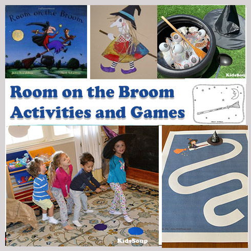 Room On The Broom And Witches Activities And Games on Animal Activities For Preschoolers