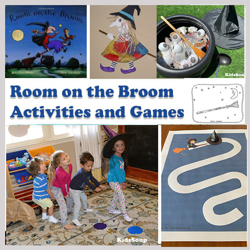 Preschool and Kindergarten Room on the Broom Activities